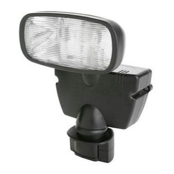 Coleman Cable - 15W Halogen Motion Activated Solar Flood Light - L951 - 15 Watt Halogen Motion Activated Solar Flood light includes 15 Watt halogen bulb. 180 Motion Detector detects motion up to 60 feet way. Multi-crystal solar panel designed for outdoor use. Rechargeable battery included. Up to 50 - 30 second cycles on a full charge.