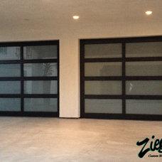 Modern Garage Doors by Ziegler Doors Inc.