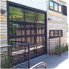 Contemporary Garage Doors And Openers Contemporary Garage Doors