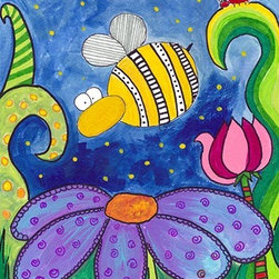 Oh How Cute Kids by Serena Bowman - Strangers in the Night, Ready To Hang Canvas Kid's Wall Decor, 8 X 10 - Each kid is unique in his/her own way, so why shouldn't their wall decor be as well! With our extensive selection of canvas wall art for kids, from princesses to spaceships, from cowboys to traveling girls, we'll help you find that perfect piece for your special one.  Or you can fill the entire room with our imaginative art; every canvas is part of a coordinated series, an easy way to provide a complete and unified look for any room.