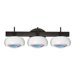 Besa Lighting - Besa Lighting 3SW-2634CD Focus 3 Light Bathroom Vanity - Features: