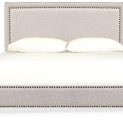 Newton Queen Bed, Reisling
