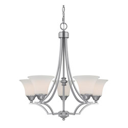 Capital Lighting - Capital Lighting 4025MN-114 Chandelier - Features: Specifications: Requires (5) x 100 Watt Medium Base Bulbs (Not Included) Since 1990, Capital Lighting has worked with residential, commercial, hotel and construction clients. Whether you're building a new home or remodeling your existing home, Capital Lighting is ready to help you with your lighting needs. From the casting and forging to the hand-painted finishes and fine details, they strive to make their products the best in the industry.