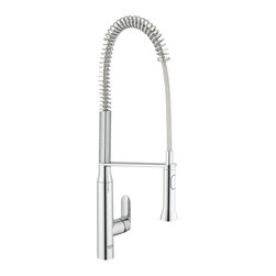 Grohe - Grohe K7 Semi-Pro Kitchen Faucet - Master chefs are used to having specialists at their disposal for all tasks.