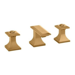 Versace - Versace Superbe Gold 3 Hole Bidet Faucet Set - Versace 3 Hole Bidet Faucet Set