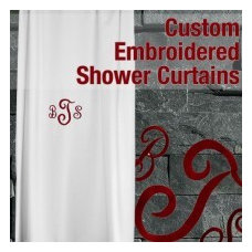 Traditional Shower Curtains by My Unique Shower Curtains