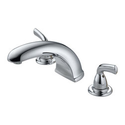 Delta - Foundations Core-B Roman Tub Faucet Trim in Chrome - Delta BT2710 Foundations Core-B Roman Tub Faucet Trim in Chrome.