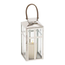 Benzara - Traditional Style Designer Steel Candle Lantern (Small) - Traditional style designer steel candle lantern (small). Now, you will no longer stumble in the dark on your trips to the bathroom with this exquisite candle lantern. Some assembly may be required.