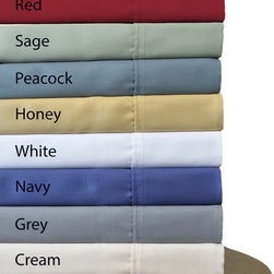 None - Brielle Sateen 100-percent Modal from Beech Sheet Set - This Brielle Sateen Modal Sheet Set offers luxury along with style and with its silky feel and extremely soft hand,the set is like being embraced by clouds. Brilliant colors and contemporary design liven up the bedroom.