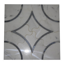 Highland Emberglow Marble Tile - This glass tile will look splendid wherever you put it: bathroom, dining room or entryway. The clean classic lines allow your imagination to soar. One wall or two? Part of one wall? A focal point in the dining room? Imagine the possibilities.