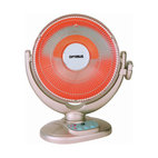 Heater 14-Inch Dish Remote Control Oscillating Fan