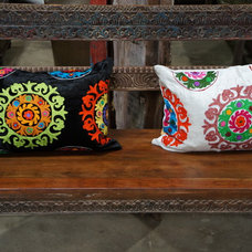 Eclectic Pillows by De-cor