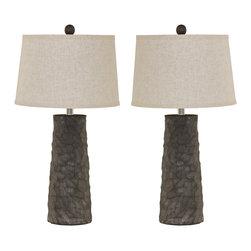 "Signature Design by Ashley - Signature Design by AshleySinda 28"" Table Lamp Set L328984 - Sinda 28"" Table Lamp Set L328984"