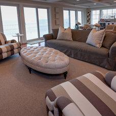 Traditional Living Room by CANDICE ADLER DESIGN LLC