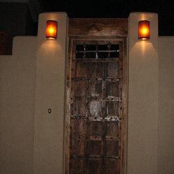 Mica Exterior Wall Sconce Lighting - Kent Samuelson