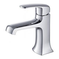 Fresca - Fresca FFT3501CH Verdura Single Hole Mount Bathroom Vanity Faucet - Chrome - Fresca FFT3501CH Verdura Single Hole Mount Bathroom Vanity Faucet - Chrome