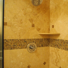 Traditional Showers by WHCI-Aqua Bella Kitchen & Bath Showroom