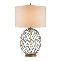 Currey and Company - Currey and Company Ophelia Modern / Contemporary Table Lamp X-1476 - Currey and Company Ophelia Modern / Contemporary Table Lamp X-1476