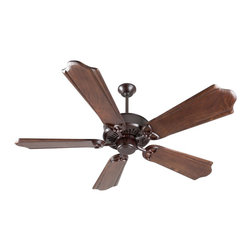 """Craftmade - Craftmade Sentry 52"""" Traditional Ceiling Fan X-BO25NS - For the Sentry we've added an uplight, keeping all the heavy duty features of the American tradition."""
