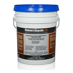 Concrete Sealers USA - PS106 Siloxane Water Repellent WB-7.5 Penetrating Sealer (5 gal.) - Zero VOC, Water Based Sealer for All Concrete, Brick & Block Masonry