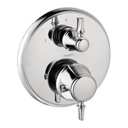 Hansgrohe - Hansgrohe - C Thermostatic Trim w/ Volume Control & Diverter -04221000 - Chrome Finish