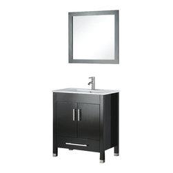 Adornus - Adornus AMADIS-36-E-C Espresso Vanity - * Floor standing all Wood Vanity.