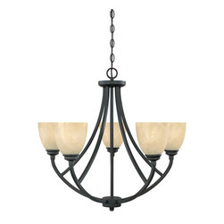 Designers Fountain - Designers Fountain 82985-BNB 5-Light Chandelier - Designers Fountain 82985-BNB 5-Light Chandelier