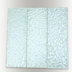 "Sample Terrene Snow Cap 4x12 1/2 Piece - sample-TERRENE SNOW CAP BLEND 4x12 1/4 SHEET GLASS TILES SAMPLE You are purchasing a 1/4 sheet sample measuring approximately 6"" x 6"". Samples are intended for color comparison purposes, not installation purposes.-Glass Tiles -"
