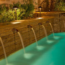Modern Outdoor Fountains And Ponds by CJ's Home Decor & Fireplaces