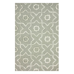 nuLOOM - Contemporary 5' x 8' Grey Hand Tufted Area Rug Trellis FG70 - Made from the finest materials in the world and with the uttermost care, our rugs are a great addition to your home.