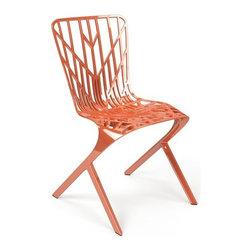 Knoll - Knoll | Washington Skeleton™ Copper Plated Aluminum Chair - Design by David Adjaye, 2013.