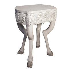 NOIR - Noir Furniture Pegas Side Table - NOIR Furniture - Pegas Side Table - TAB349WW