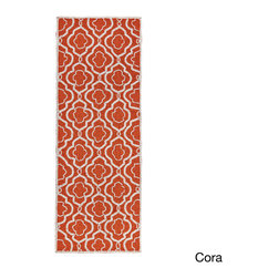 None - Celebration Moroccan Hand-beaded Table Runner - Dress up your dining table with this Celebration Moroccan table runner,constructed with beautiful glass beads in a Moroccan-inspired pattern in an array of chic colors. The rectangular runner will add beauty and style to any dinner.