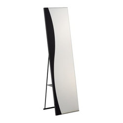 Wave Storage Mirror - 15.75W x 59.5-60H in.