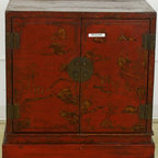 Cabinet with Old Lacquer - Cabinet with Old Lacquer