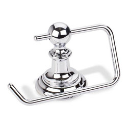 Hardware Resources - Elements Conventional Euro Tissue Paper Holder - Polished Chrome - Element is the premier manufacturer and importer of the finest decorative cabinet and furniture hardware. - Finish - Polished Chrome