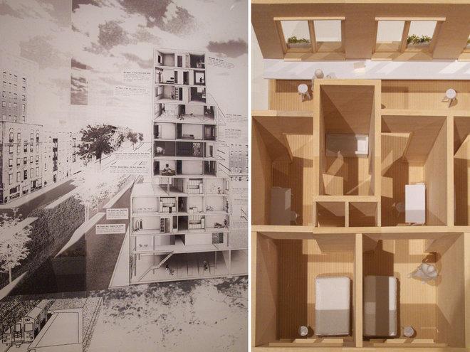 Modern Section by John Hill