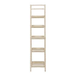 Safavieh - Safavieh Asher Leaning Etagere X-A7356HMA - Finish: Distressed Ivory.