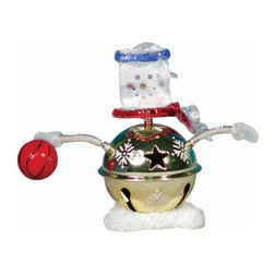WL - 3.25 Inch Basketball Winter Christmas Snowman Bobble Figurine - This gorgeous 3.25 Inch Basketball Winter Christmas Snowman Bobble Figurine  has the finest details and highest quality you will find anywhere! 3.25 Inch Basketball Winter Christmas Snowman Bobble Figurine  is truly remarkable.