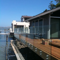 Contemporary Patio by Old Town Glass