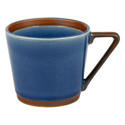 Pure Nature Blue Set of 4 Mugs