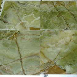 12 x 12 Dark Green Onyx Floor Wall Tiles - 12 x 12 Dark Green Onyx Floor Wall Tiles