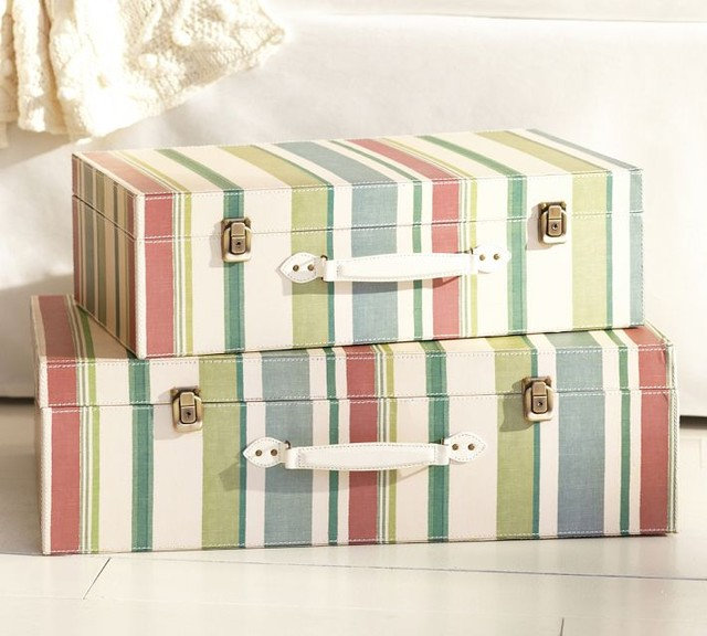 Traditional Storage Boxes by Pottery Barn