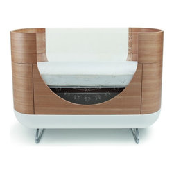 Pod Crib - Here's a unique bed for the baby. He or she will have a great time looking out the window.