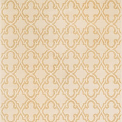 "Loloi Rugs - Loloi Rugs Goodwin Collection - Ivory / Beige, 3'-10"" x 5'-7"" - Go bold with the big graphic patterns featured in the Goodwin Collection. Power loomed in Turkey of 100% polypropylene, expect amazing color fastness from the resilient fiber and unparalleled durability from the densely packed yarns. Available in scatter, regular, round, and runner sizes."