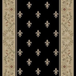 "Concord Global - Imperial 27"" Runner Country Stair Runner - Stair & Hallway Runners Are Sold By The Linear Foot!"