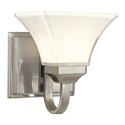Minka Lavery - Minka Lavery ML 6811 1 Light Bathroom Sconce from the Agilis Collection - Single Light Bathroom Sconce from the Agilis CollectionFeatures: