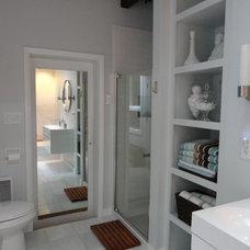 Modern Bathroom by Dichotomy Interiors