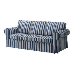 IKEA of Sweden - EKTORP Sofa - Sofa, Åbyn blue