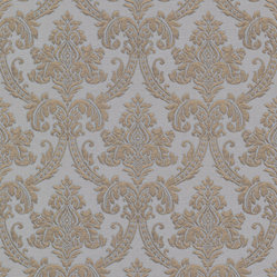 Bradford (Kt) Fabric Damask Wallpaper